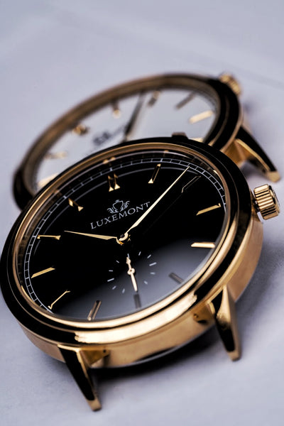 luxemont maestro in black and white dial, a watch's most visual aspect