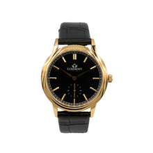 New Maestro | Yellow Gold, Black Dial