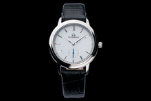 luxemont lady maestro silver white dial front view