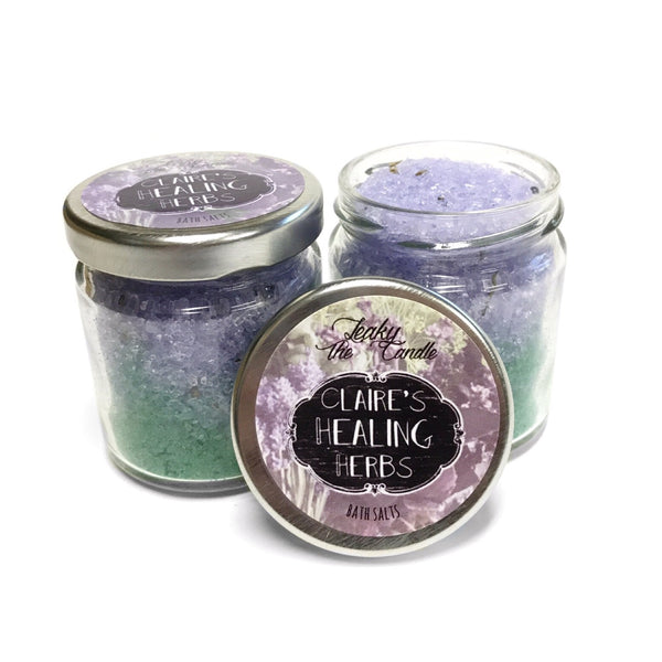 Claire's Healing Herbs ~ Outlander inspired bath salts