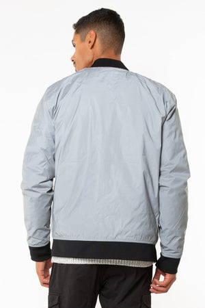 Alternative Down Reflective and Reversible Bomber