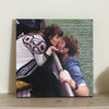 Custom Photo Canvas Art - 14x14 // custom song or vows