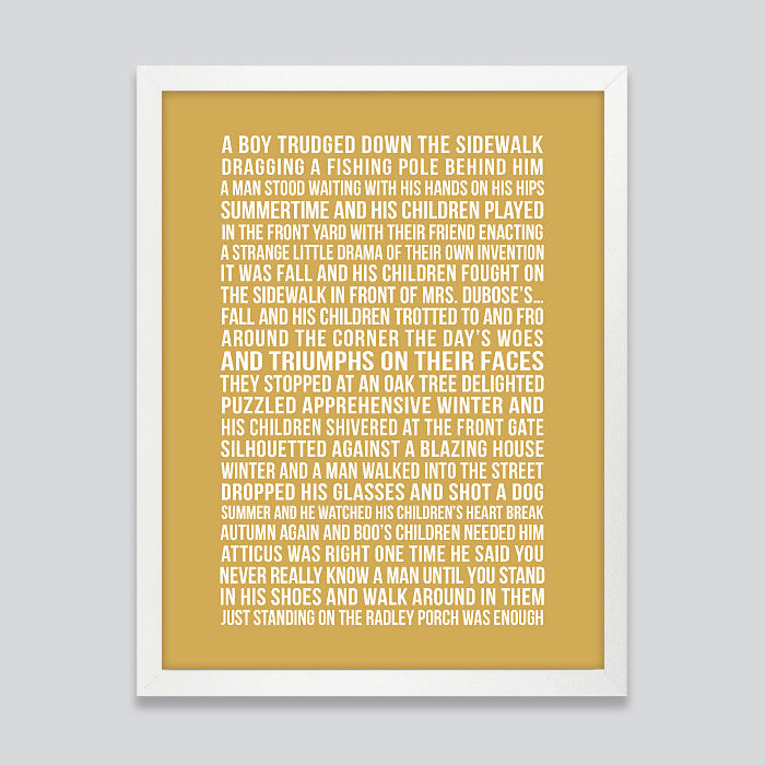Custom Subway Quote Print // Bold Text