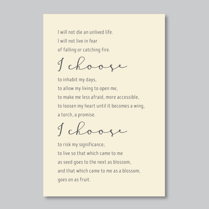Personalized Poem or Quote // Modern Farmhouse Decor