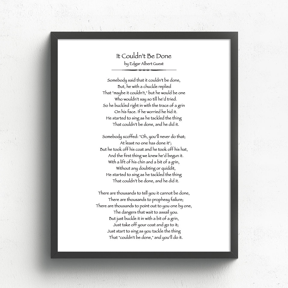 Custom Poem Print //  Classic Book Page Art
