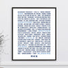 Personalized Special Memories Print //  Word Art