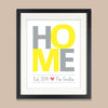 Family HOME Print // Housewarming Gift