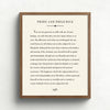 Custom Book Page Art // Literary Poem Print
