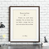 Custom Literary Print // Book Page Art