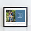 Mom and Son Quote // Personalized Photo Print