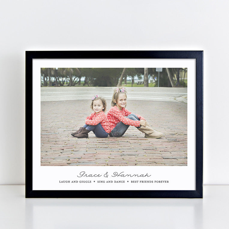 Personalized Sisters Wall Art // Sister Quotes