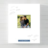 Modern Square Photo Guest Book Alternative for wedding // Poster or Canvas