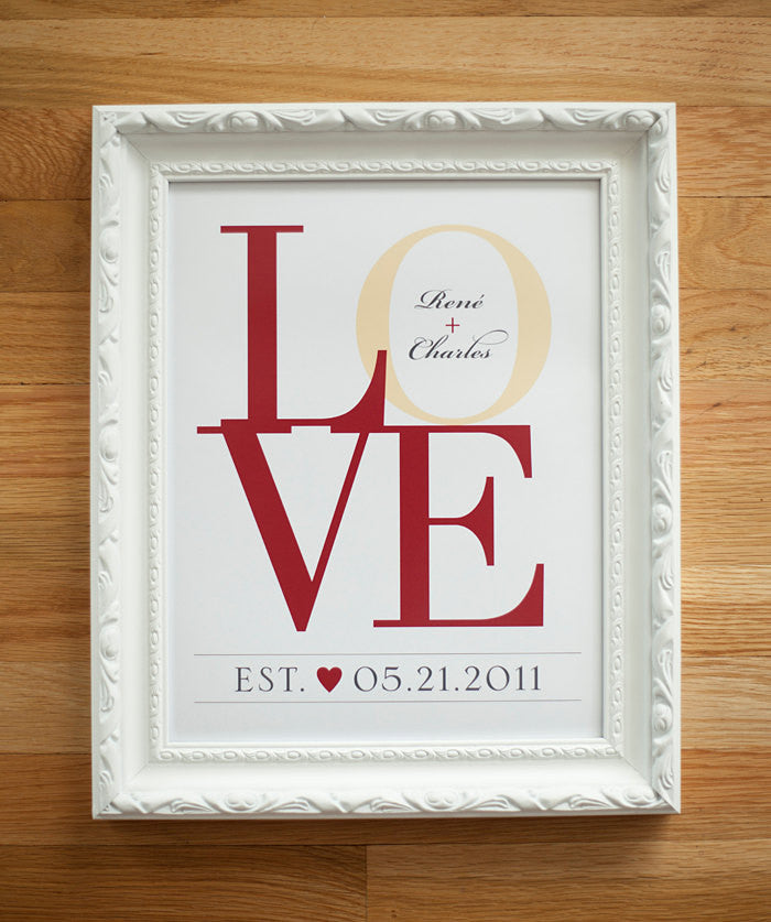 Valentines Day Gift, Gift for Wife, Valentines Gift, LOVE Wall Art, Gift ideas, Anniversary Gift