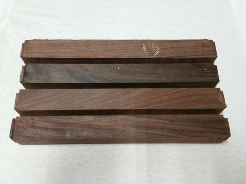 "East Indian Rosewood 1.5"" x 1.5"" x 12"""