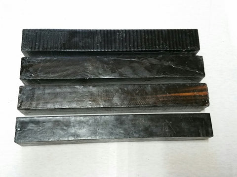 "ON SALE!  Ebony 1.5"" x 1.5"" x 12"""