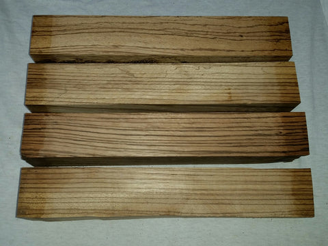 "ON SALE!  Zebrawood 2"" x 2"" x 12"""