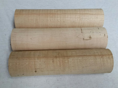 "Hard Maple Dowel - Round Turning Blank 2.5"" x 10"""