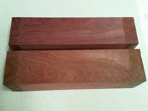 "ON SALE!  Purpleheart 3"" x 3"" x 12"""