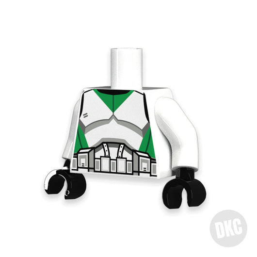 Green Trooper Torso