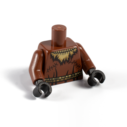 Brown Crow Torso