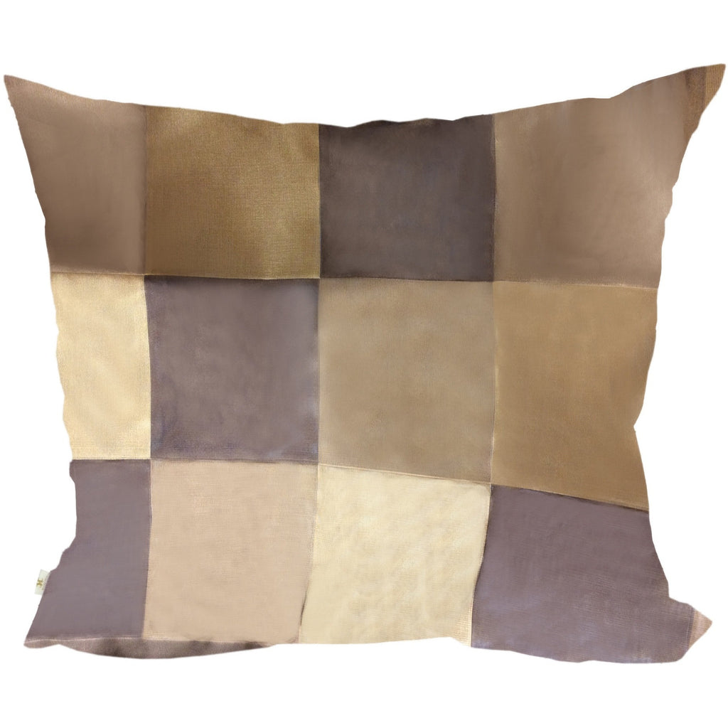 BronzeElegantly Decorative Pillow Covers Collection Bronze, Square Set of 2. - It's All About An Idea