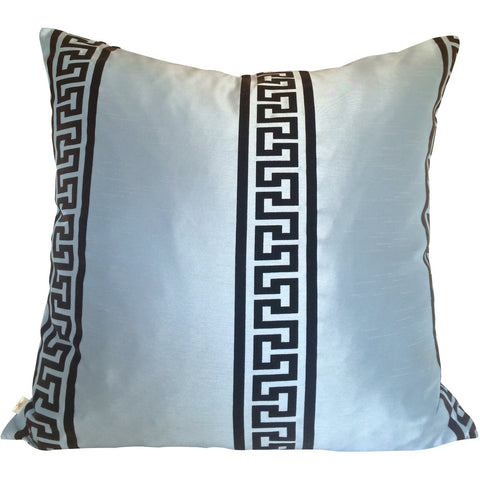 GreekClass Decorative Pillow Covers Collection Blue, Square Set of 2. - It's All About An Idea