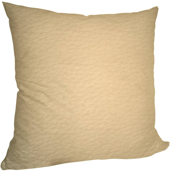 Faux LeatherExotica Decorative Pillow Covers Collection IceCream, Square Set of 2. - It's All About An Idea