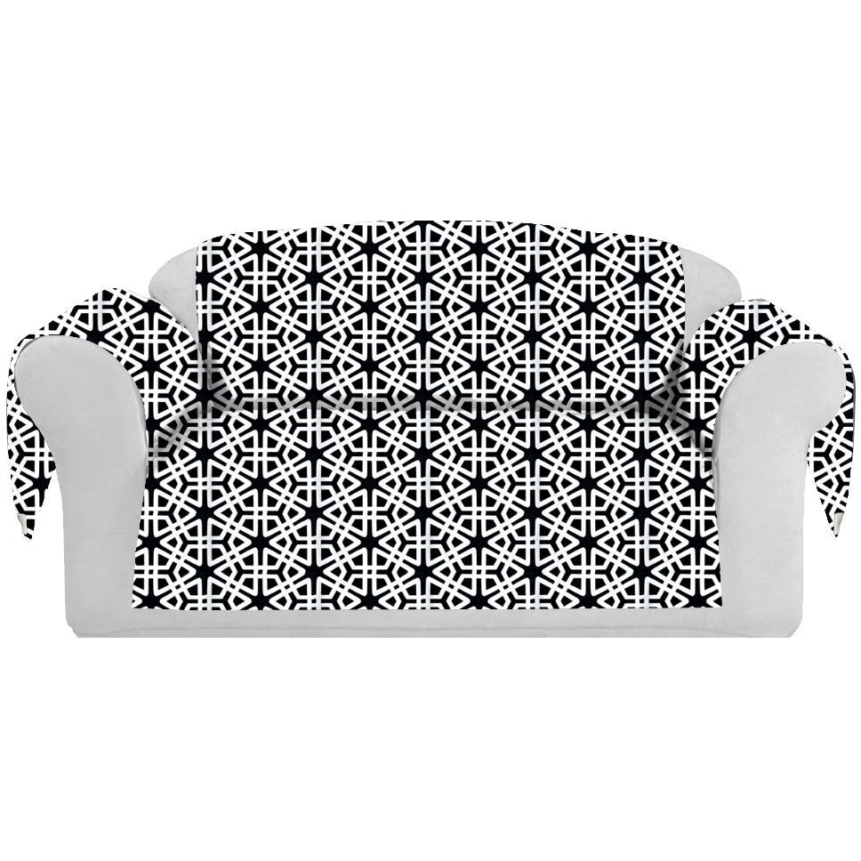 Geom Decorative Sofa / Couch Covers Collection Black. - It's All About An Idea