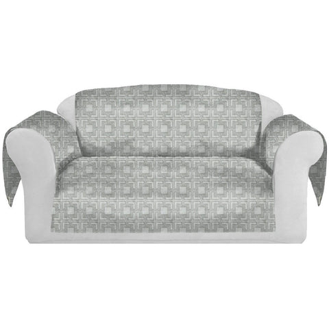 Tagon Decorative Sofa / Couch Covers Collection Silver. - It's All About An Idea