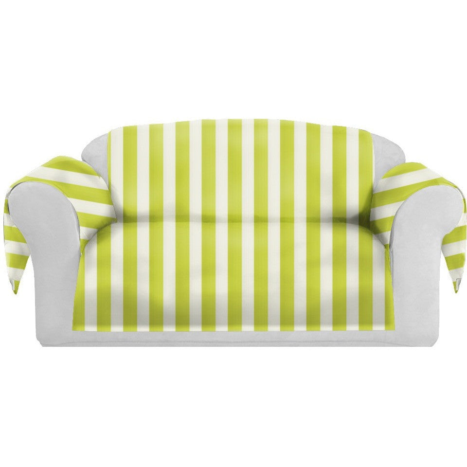 SatiSpring Decorative Sofa / Couch Covers Collection Yellow-White. - It's All About An Idea