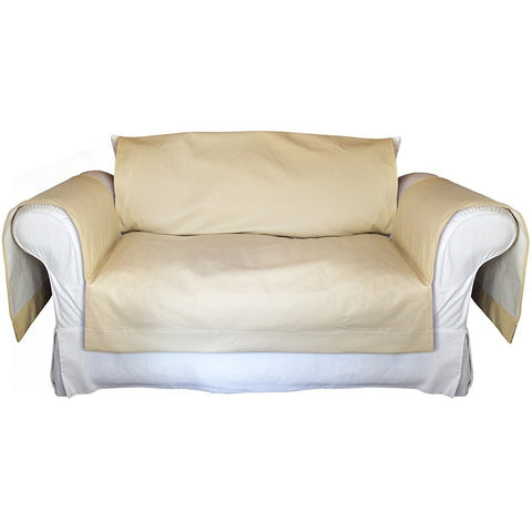 Faux LeatherExotica Decorative Sofa / Couch Covers Collection IceCream. - It's All About An Idea
