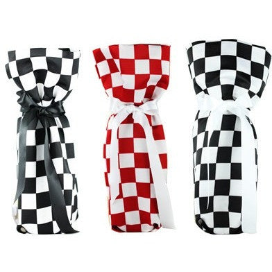 CHESS Collection Wine/ Champagne Gift Bag One Size 3/Pack - It's All About An Idea