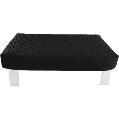 Rectangular Black Diamond Pouf Coffee-Table Cover - It's All About An Idea