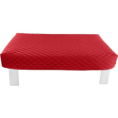 Rectangular Red Diamond Pouf Coffee-Table Cover - It's All About An Idea