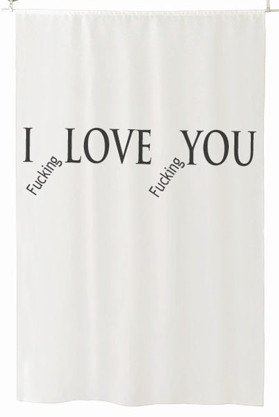 I fucking LOVE fucking YOU - Luxury Room Separator - It's All About An Idea