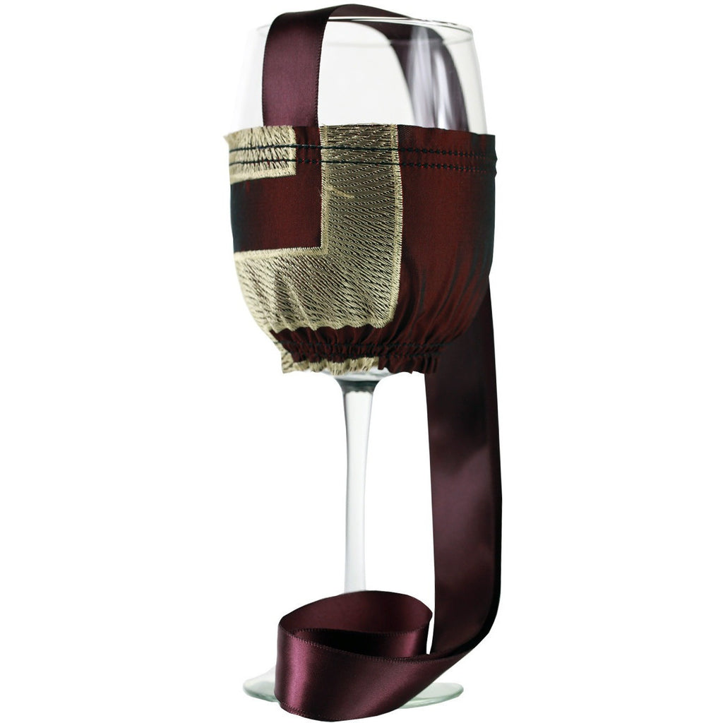 VERSACE Collection Wine Necklace Holder Large - It's All About An Idea