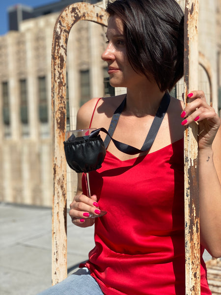 Wine Necklace Holder, Wine Festival, Wine & Food Festival, Keep Your Hands Free for Food degustation, Have Fun, at your Private Party with Hands Free,