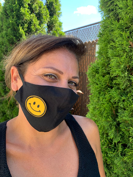 NewFace2020 Cotton Face Mask with Embroidery - Adult Unisex