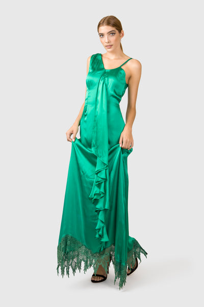 Silk Evening Gown