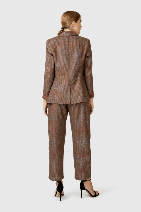 Tailored Wool Blazer - AGAATI