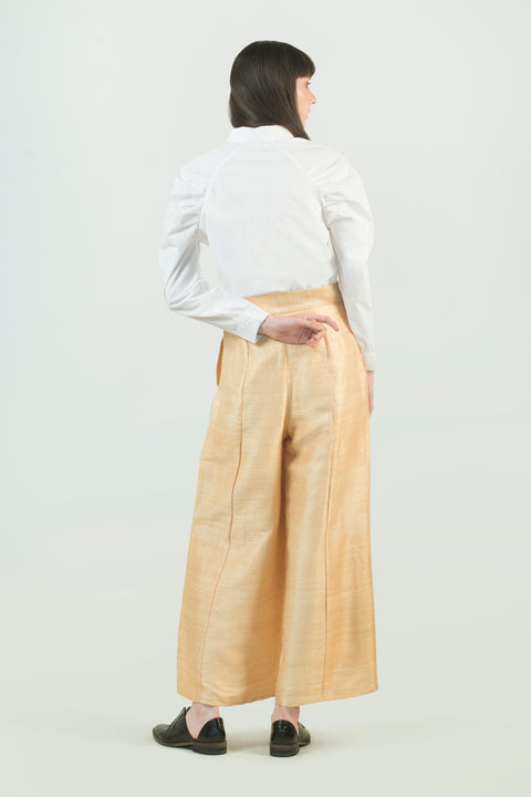 Hand Weaved Silk Pant