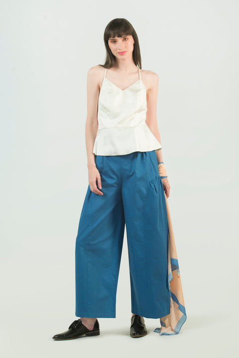 High Waist Organic Cotton Pant - AGAATI