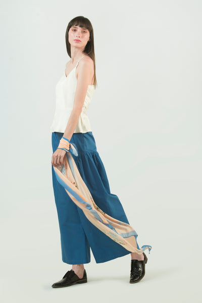 Wide Legged Organic Cotton Pant