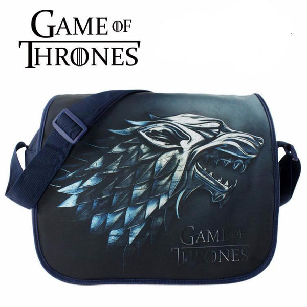 update alt-text with template Game of Thrones Messenger Bag -LIMITED SUPPLY-bags-Astounding Accessories-Black-Always-Amazing-Game-of-Thrones-Winter-Is-Coming-April-2019