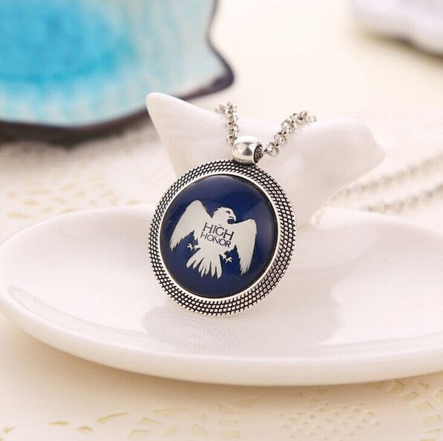 update alt-text with template Game of Thrones Family Coat of Arms Necklace...Choose Your House-Necklace-Astounding Accessories-Arryn-Always-Amazing-Game-of-Thrones-Winter-Is-Coming-April-2019