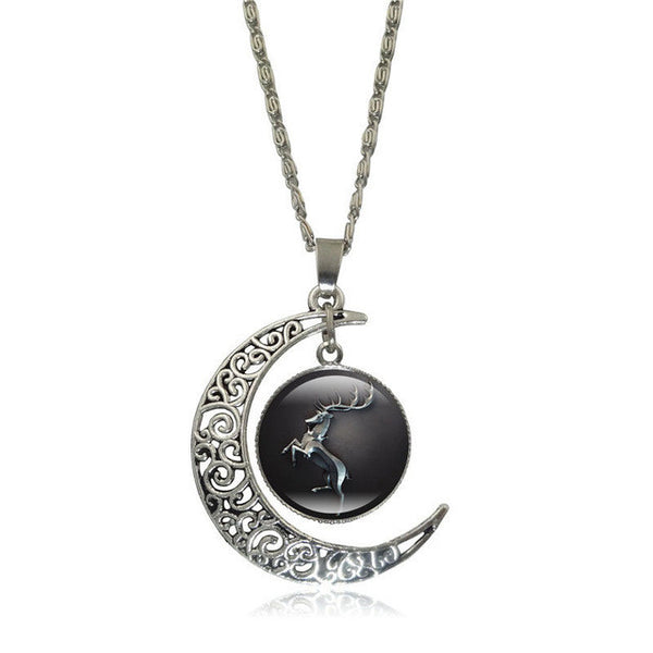 update alt-text with template Game of Thrones Glass Pendant Silver Color Crescent Moon-Necklace-Astounding Accessories-S5364-Always-Amazing-Game-of-Thrones-Winter-Is-Coming-April-2019