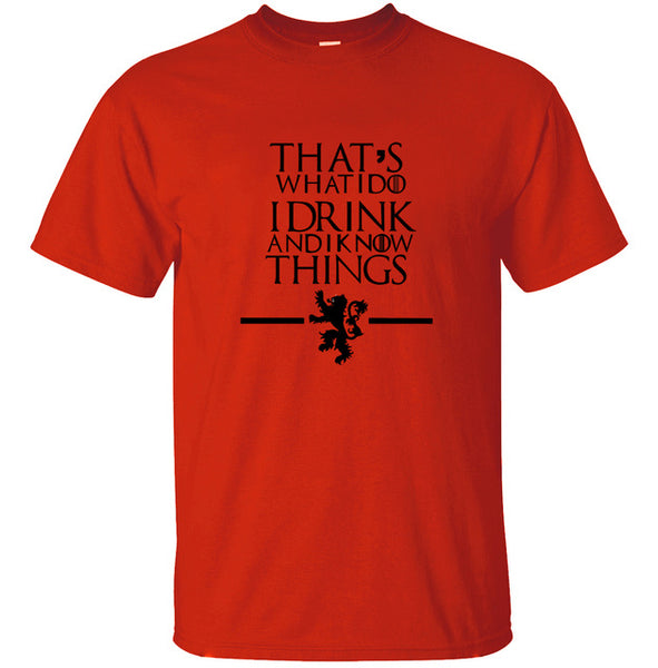 update alt-text with template That's What I Do I Drink and I know Things - 45% SALE limited time ONLY-T-shirt-Always-Amazing-red-S-Always-Amazing-Game-of-Thrones-Winter-Is-Coming-April-2019