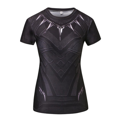 update alt-text with template Black Panther Women's Short Sleeved Compression Top - 50% OFF SALE LIMITED TIME ONLY-Always-Amazing-Always-Amazing-Game-of-Thrones-Winter-Is-Coming-April-2019