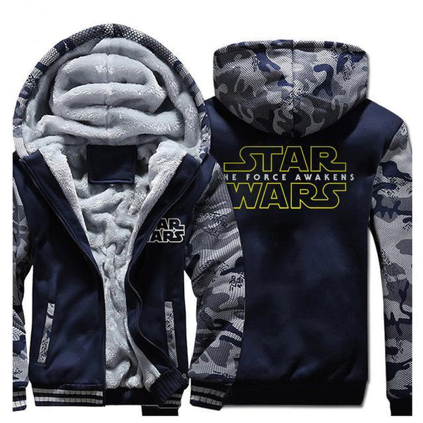 update alt-text with template **NEW DESIGN** - Star Wars Hoodie Fleece Jacket - 40% OFF +XTRA 20% OFF TODAY ONLY-jacket-Always-Amazing-dark blue-XL-Always-Amazing-Game-of-Thrones-Winter-Is-Coming-April-2019