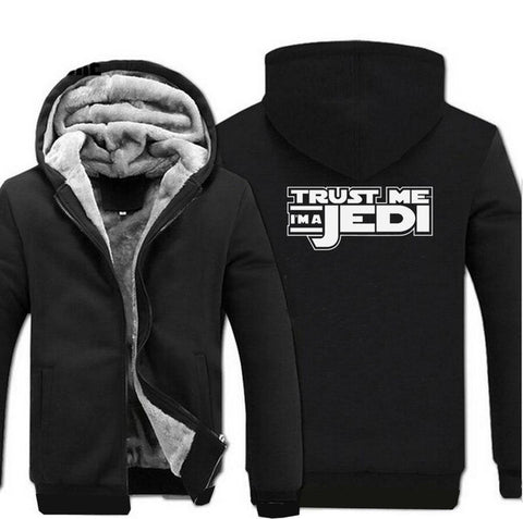 update alt-text with template Star Wars Jedi Hoodie Fleece Jacket - 40% OFF +XTRA 20% OFF TODAY ONLY-jacket-Always-Amazing-black-M-Always-Amazing-Game-of-Thrones-Winter-Is-Coming-April-2019
